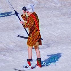 Экипировка горнолыжника